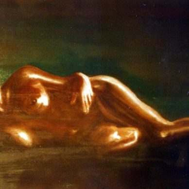 Brown Woman - 1988 - Oil on paper - 70X50