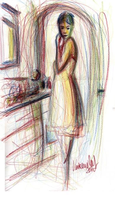 Kitchen - 2010 - Pastels - 30X50
