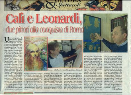 "Article on ""Gazzetta Matin"""