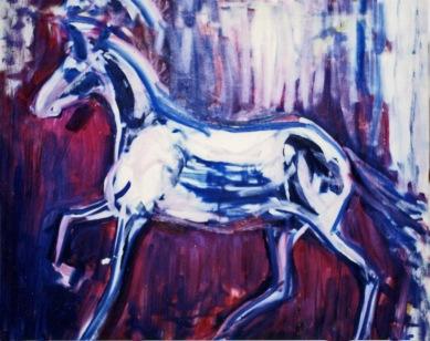 Horse - 1990 - Oil on canvas - 120X100