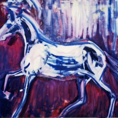 Horse - 1990 - Oil on canvas - 120X100