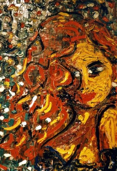 Love - 1989 - Oil on paper - 50X70