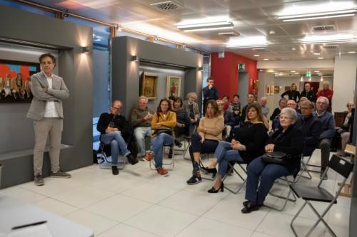 Il pubblico durante l'evento dedicato alla comunicazione