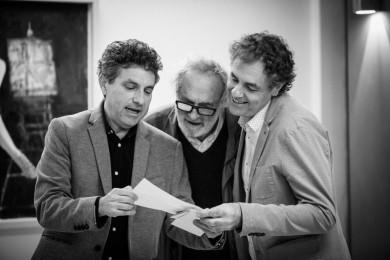 Claudio Calì, Alberto Faccini e Vincenzo Calì