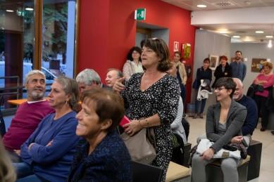Un intervento durante l'evento dedicato alla comunicazione