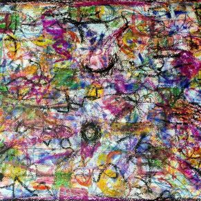 Ricordi - 2021 - Pastels on Paper - 50x40
